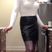 Leather skirt 2