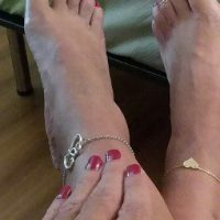 Cropped Sexy Feet